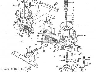 Suzuki GS450L 1983 (D) USA (E03) parts lists and schematics