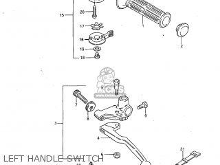 Suzuki GS450L 1983 (D) USA (E03) parts lists and schematics