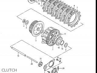 Suzuki Gs450l 1985 (f) Usa (e03) parts list partsmanual