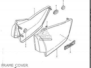 Suzuki GS450L 1985 (F) USA (E03) parts lists and schematics