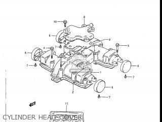 Suzuki GS450L 1987 (H) USA (E03) parts lists and schematics