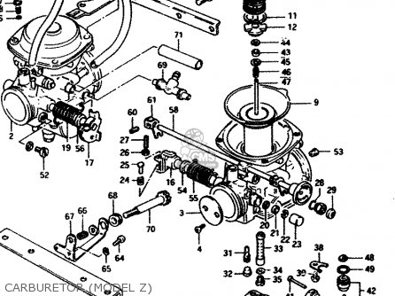 Suzuki Gs450s 1982 (d) General Export (e01) parts list