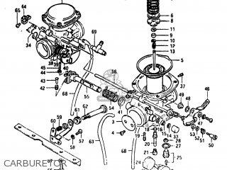 Suzuki Gs450t 1981 (x) Usa (e03) parts list partsmanual