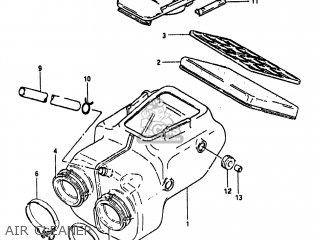 Suzuki GS450TX 1982 (Z) USA (E03) parts lists and schematics