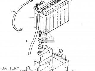 Suzuki GS450TX 1983 (D) USA (E03) parts lists and schematics