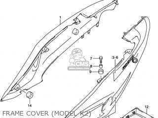 Suzuki Gs500 2001 (k1) Usa (e03) parts list partsmanual
