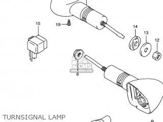 Suzuki Gs500 2001 (k1) Usa (e03) parts list partsmanual