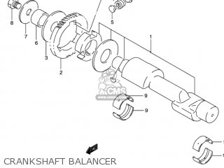 Suzuki Gs500 2002 (k2) Usa (e03) parts list partsmanual