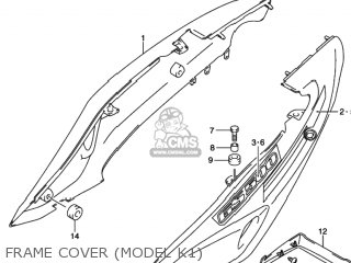 Suzuki GS500 2002 (K2) USA (E03) parts lists and schematics