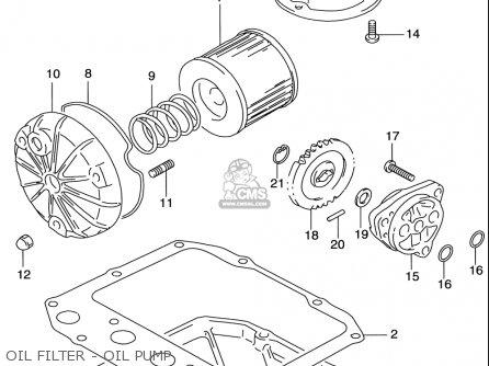 Suzuki Gs500 E 1997-2000 (usa) parts list partsmanual