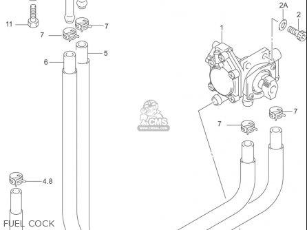 Suzuki Gs500 F (usa) parts list partsmanual partsfiche