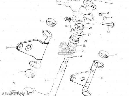 Suzuki Gs500e 1981 (x) General Export (e01) parts list