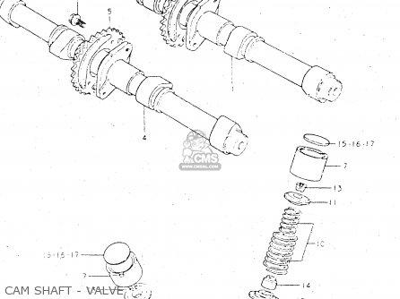 Suzuki GS500E 1982 (Z) GENERAL EXPORT (E01) parts lists