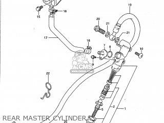 Suzuki GS500E 1989 (K) USA (E03) parts lists and schematics