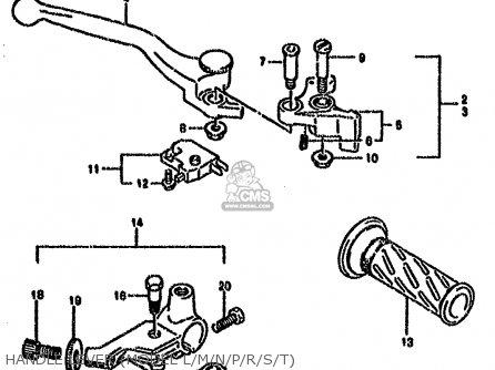 Suzuki GS500E 1990 (L) (E01 E02 E04 E15 E16 E17 E21 E22