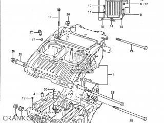 Suzuki GS500E 1993 (P) USA (E03) parts lists and schematics