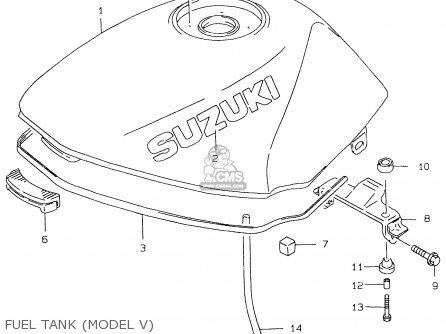Suzuki GS500E 1998 (W) (E02 E04 E18 E22 E24 E25 E34 E37