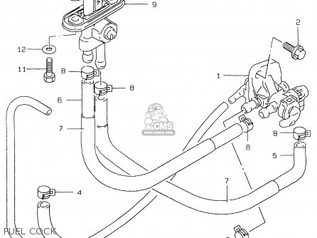 Suzuki Gs500e 1999 (x) (e02 E04 E22 E24 E25 E34 E37) parts list partsmanual partsfiche