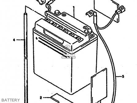 Suzuki Gs500eu 1991 (m) Germany (e22) parts list
