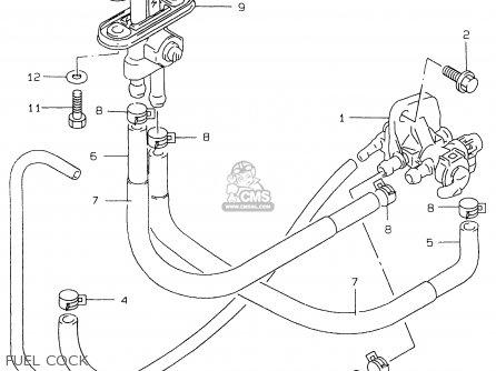 Suzuki Gs500eu 1999 (x) (e04 E22 E39) parts list