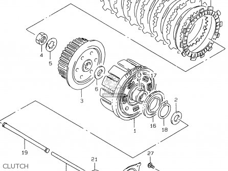 Suzuki GS500EU 2000 (Y) parts lists and schematics