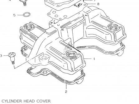 Suzuki Gs500eu 2000 (y) parts list partsmanual partsfiche