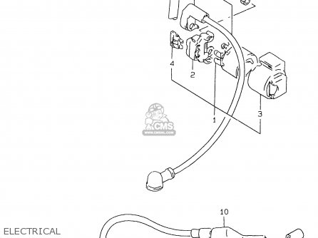 Suzuki GS500EU 2000 (Y) parts lists and schematics