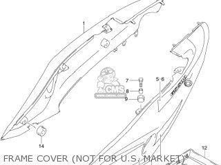 Suzuki GS500F 2004 (K4) USA (E03) parts lists and schematics