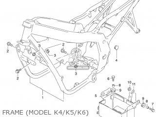 Suzuki Gs500f 2004 (k4) Usa (e03) parts list partsmanual
