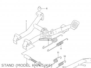 Suzuki Gs500f 2004 (k4) Usa (e03) parts list partsmanual