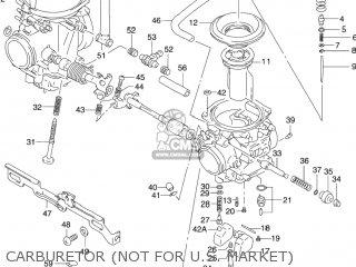 Suzuki GS500F 2005 (K5) USA (E03) parts lists and schematics