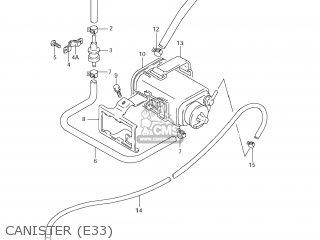 Suzuki GS500F 2008 (K8) USA (E03) parts lists and schematics