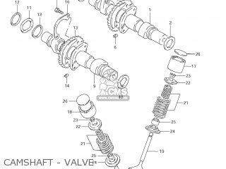 Suzuki Gs500f 2009 (k9) Usa (e03) parts list partsmanual