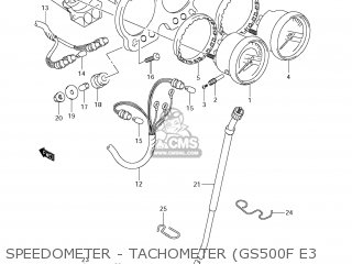 Suzuki GS500F 2009 (K9) USA (E03) parts lists and schematics