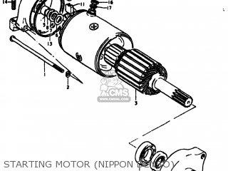 Suzuki Gs550 1978 (c) Usa (e03) parts list partsmanual