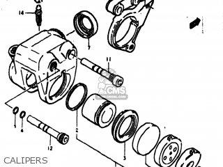 Suzuki Gs550 1979 (n) Usa (e03) parts list partsmanual