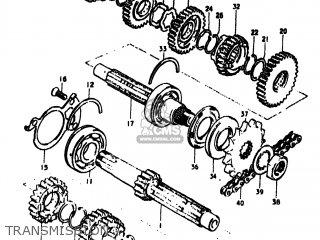 Suzuki GS550 1979 (N) USA (E03) parts lists and schematics