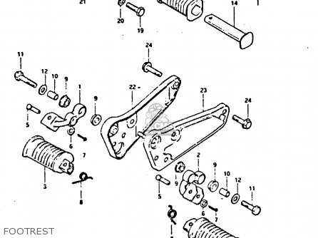 Suzuki GS550 1981 (X) GENERAL EXPORT (E01) parts lists and