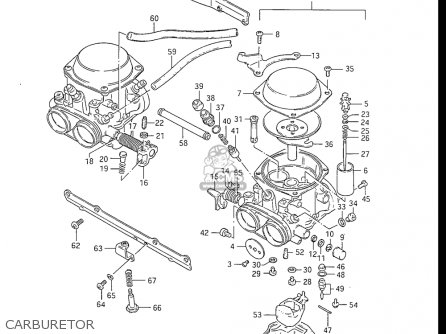 Suzuki Gs550 L 1985-1986 (usa) parts list partsmanual