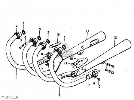 Suzuki Gs550 ,e 1977-1979 (usa) parts list partsmanual
