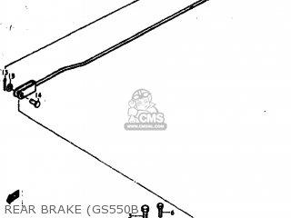 Suzuki GS550E 1979 (N) USA (E03) parts lists and schematics