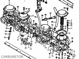 Suzuki Gs550e 1980 (t) Usa (e03) parts list partsmanual