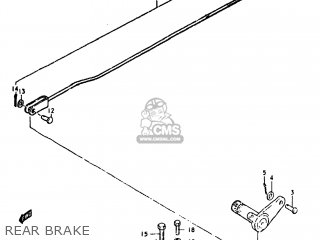 Suzuki GS550E 1980 (T) USA (E03) parts lists and schematics