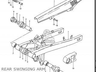 Suzuki Gs550e 1983 (d) Usa (e03) parts list partsmanual