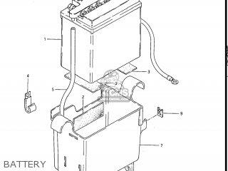 Suzuki GS550EF 1984 (E) USA (E03) parts lists and schematics