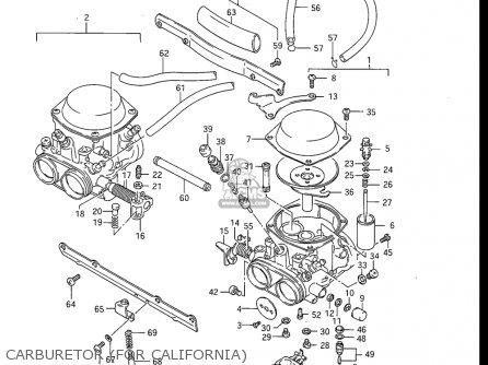 Suzuki GS550ES GS550ESE GS550EF GS550ESF GS550ESG 83-86 (D