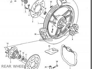 Suzuki GS550ES3 1984 (E) USA (E03) parts lists and schematics