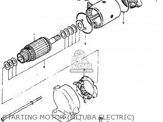 Suzuki GS550L 1979 (N) USA (E03) parts lists and schematics