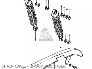 Suzuki GS550L 1980 (T) USA (E03) parts lists and schematics