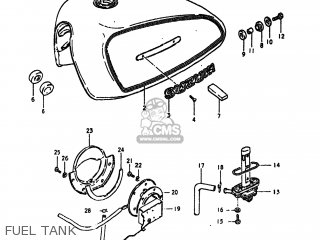 Suzuki GS550L 1980 (T) USA (E03) parts lists and schematics